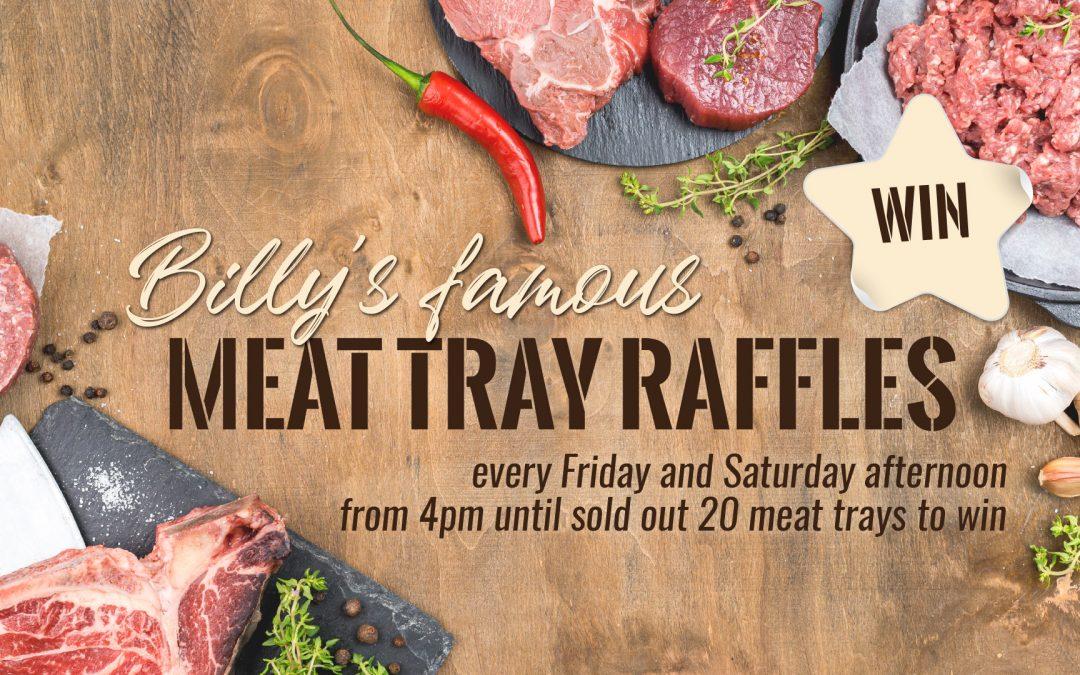 Meat Tray Raffles Shearers Arms Tavern